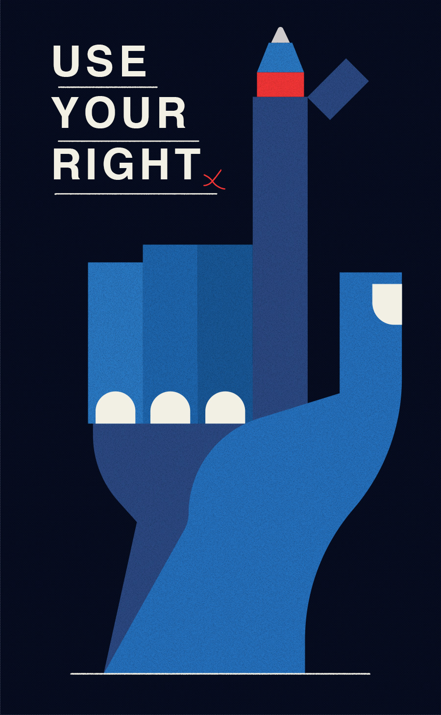 adam avery illustration the suffolk punch press hand voting using your right to vote