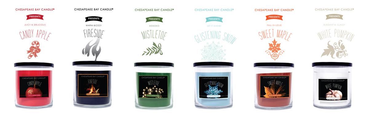 candles design lables