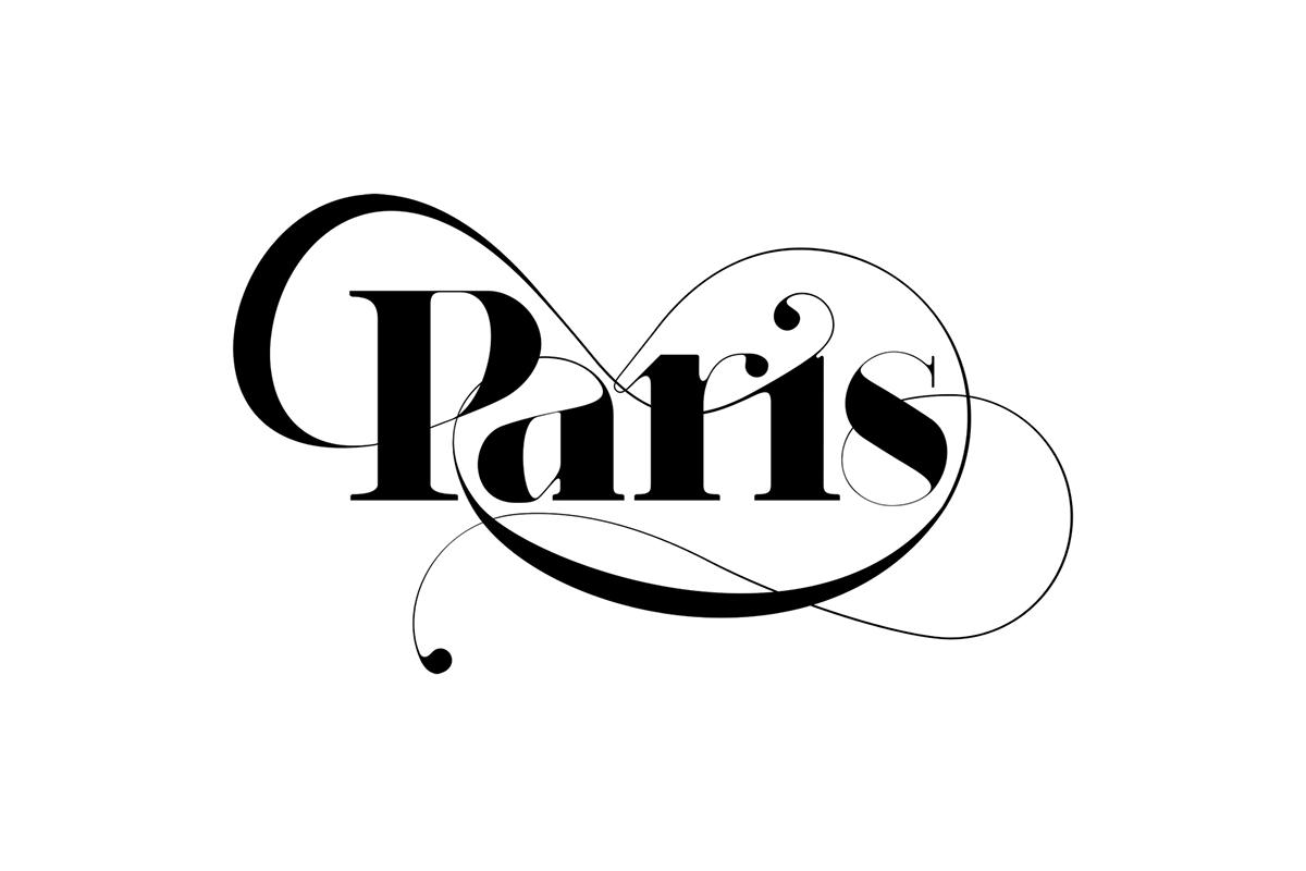 Bold Paris paris | new typefacemoshik nadav typography on behance