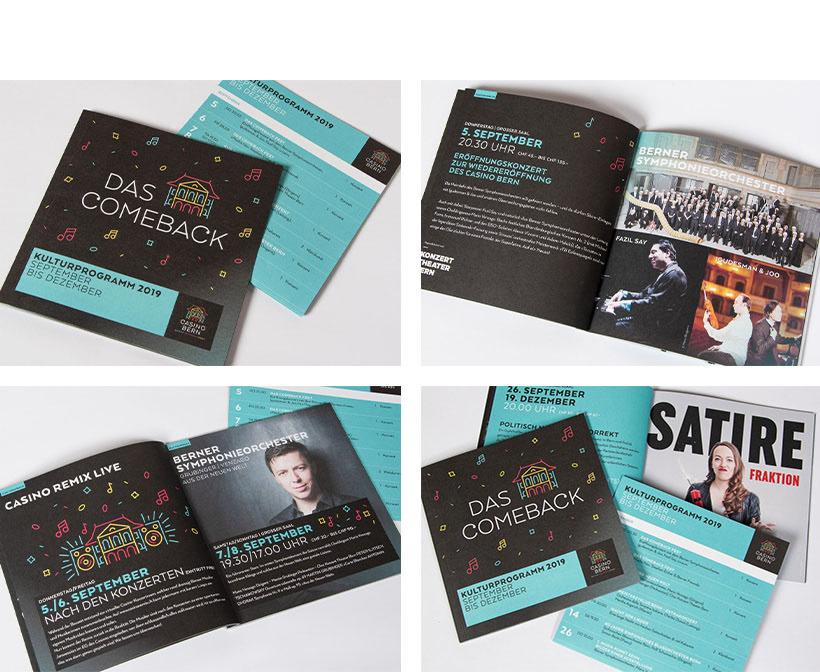 Casino Bern,branding ,bern,postkarten,Plakate,Visitenkarten,logo,restaurant,kultur,Event