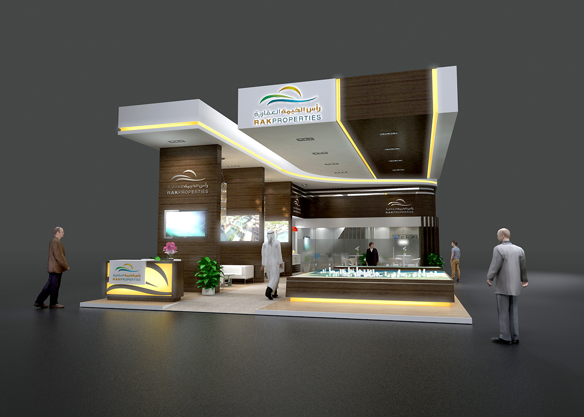 Exhibition Stand Behance : Rak on behance