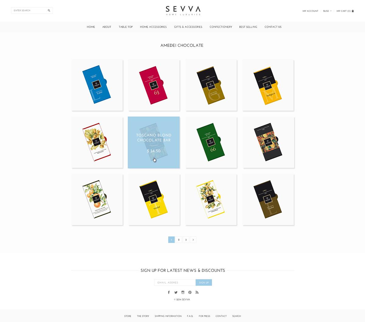 shop UI ux Flowers store Website flat clean e-commerce simple
