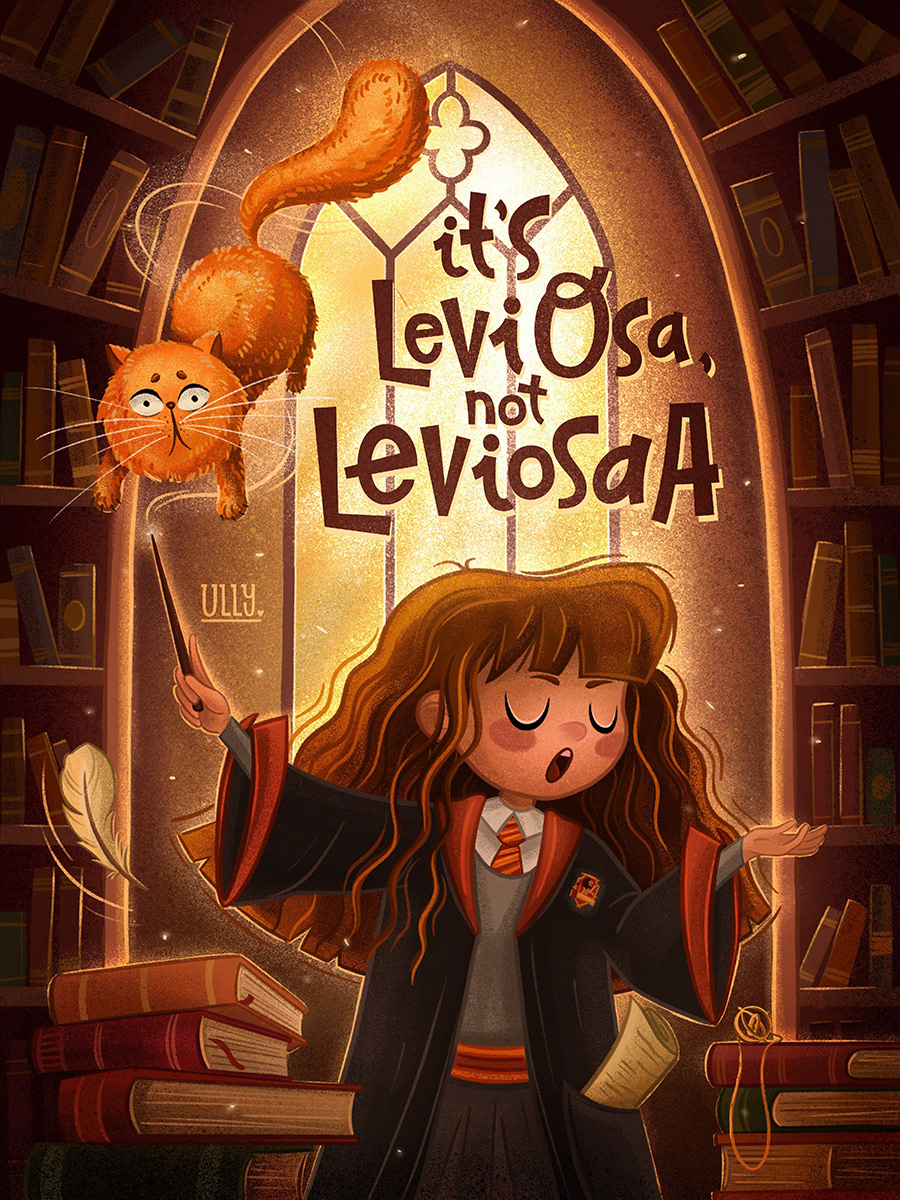 Harry Potter art on Behance