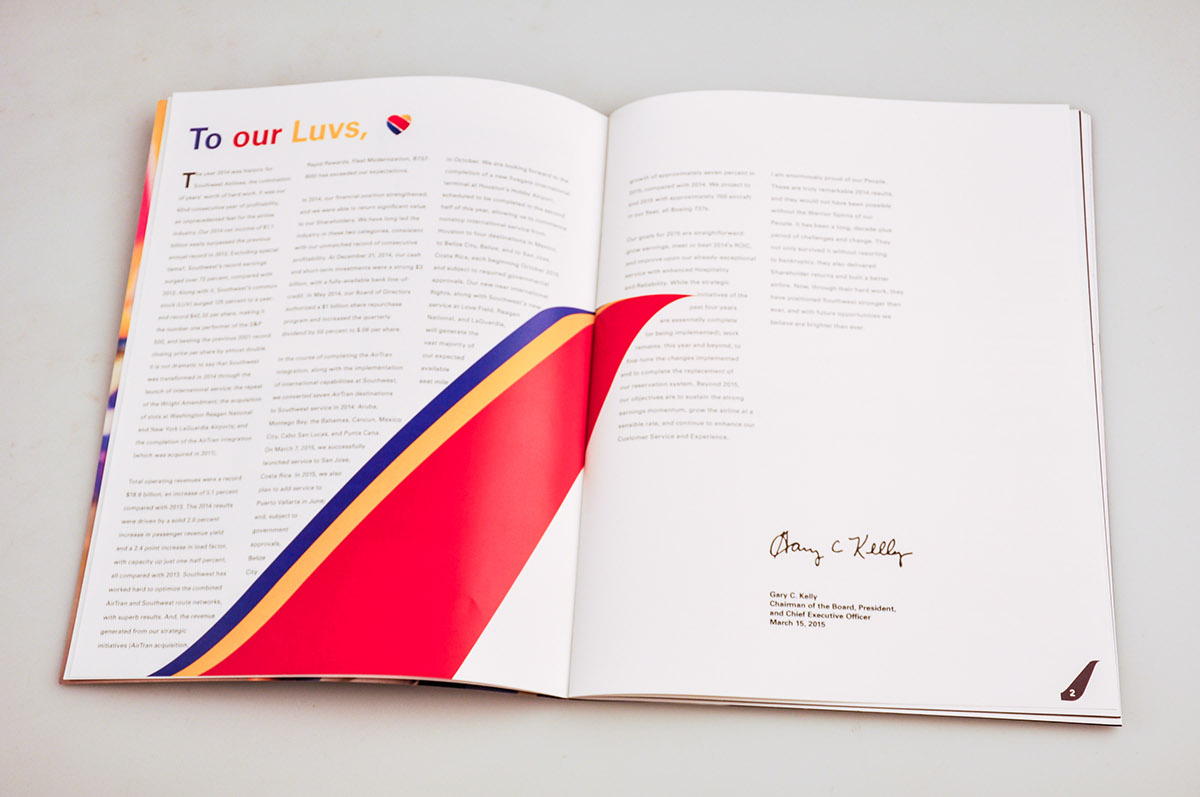 southwest airlines annual report