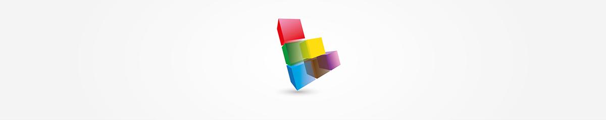 logo brand branding  colours visual identity Geometries shapes gradients