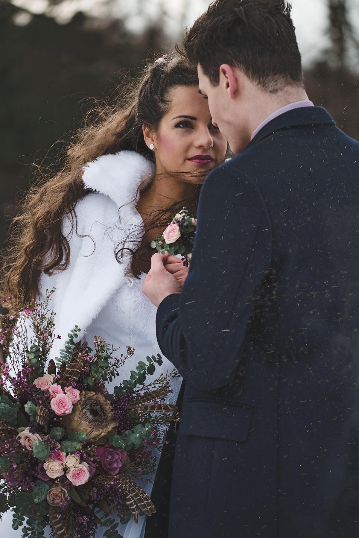 Wedding Fashion Shoot Winter