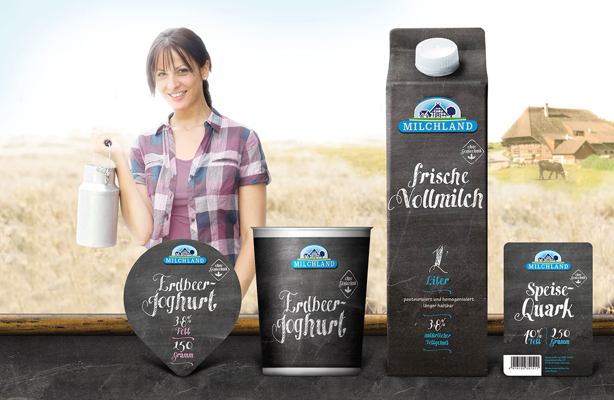 packaging design verpackung milch