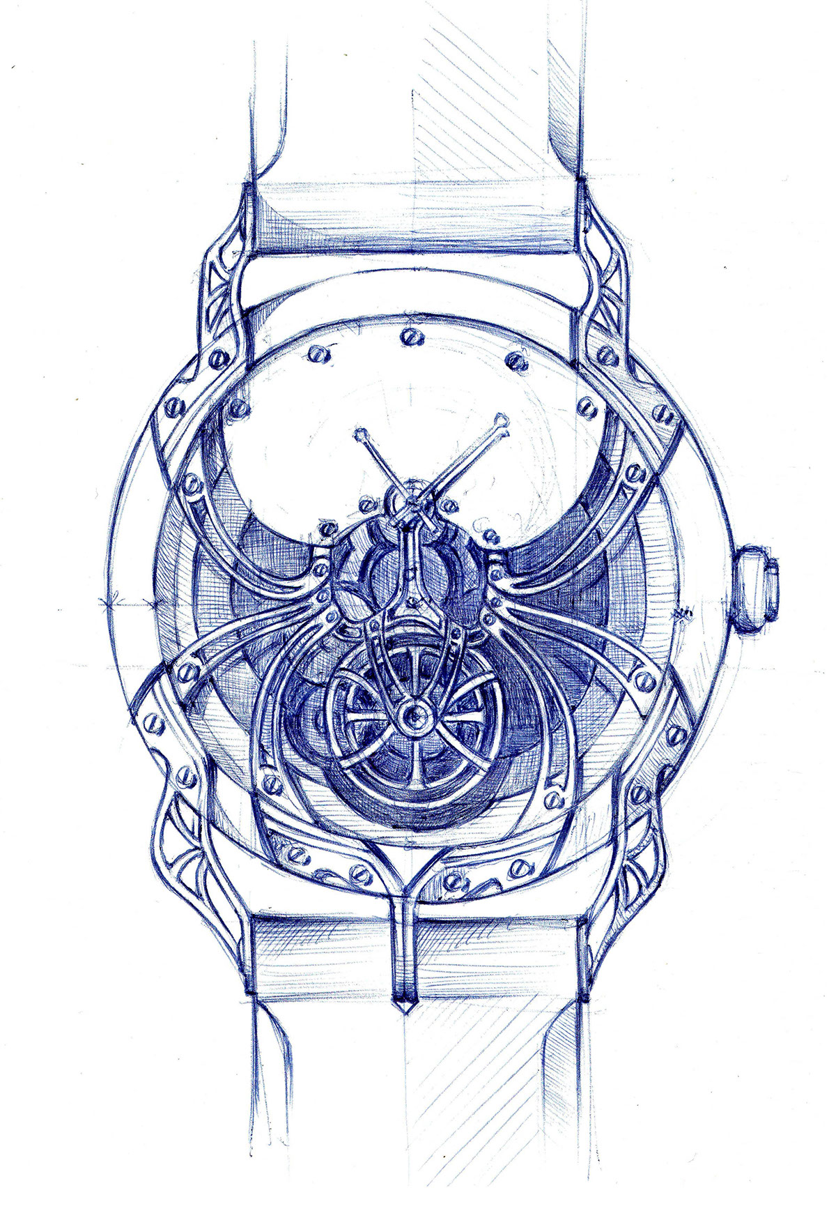 my mercier drawing classima soldat watches baume