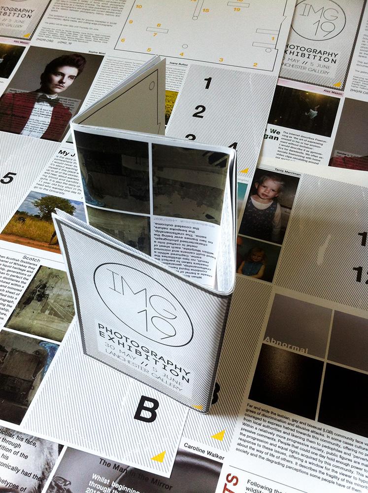 Catalogue Exhibition  a2 poster print