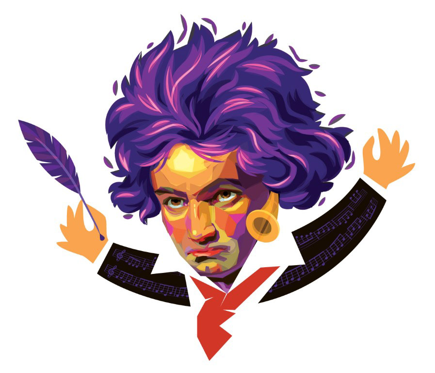 alemão batuta escrever genio maestro Musica Classica orquestra Piano sinfonia