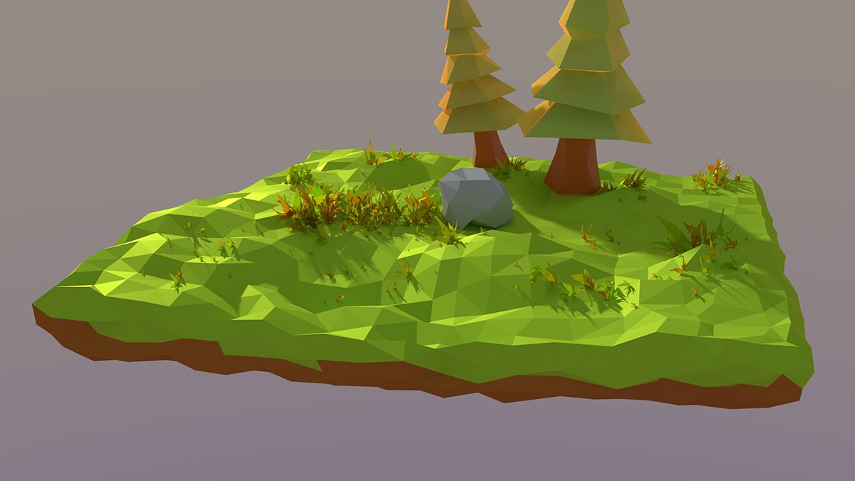 Low Poly fantasy 3D