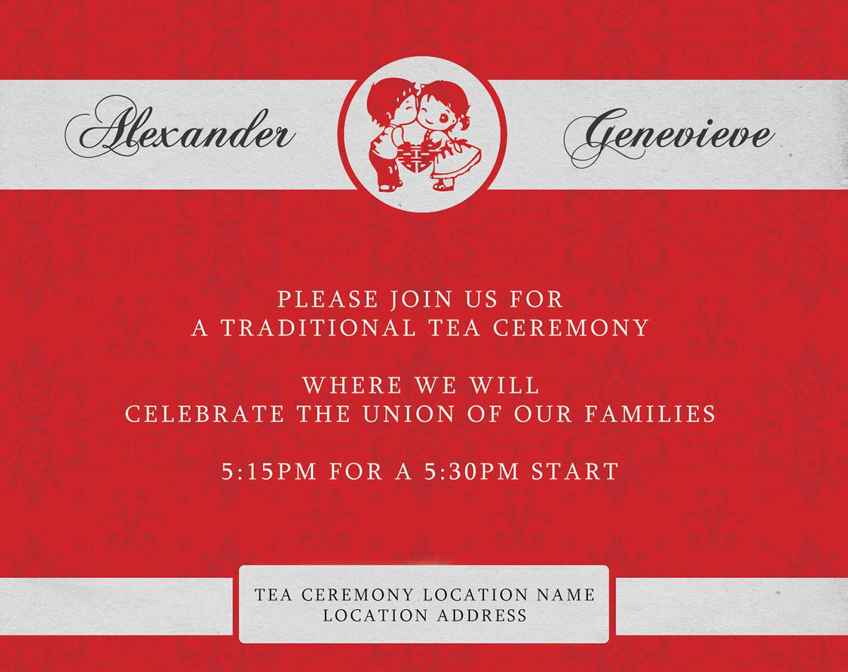 My Wedding Invitations on Behance