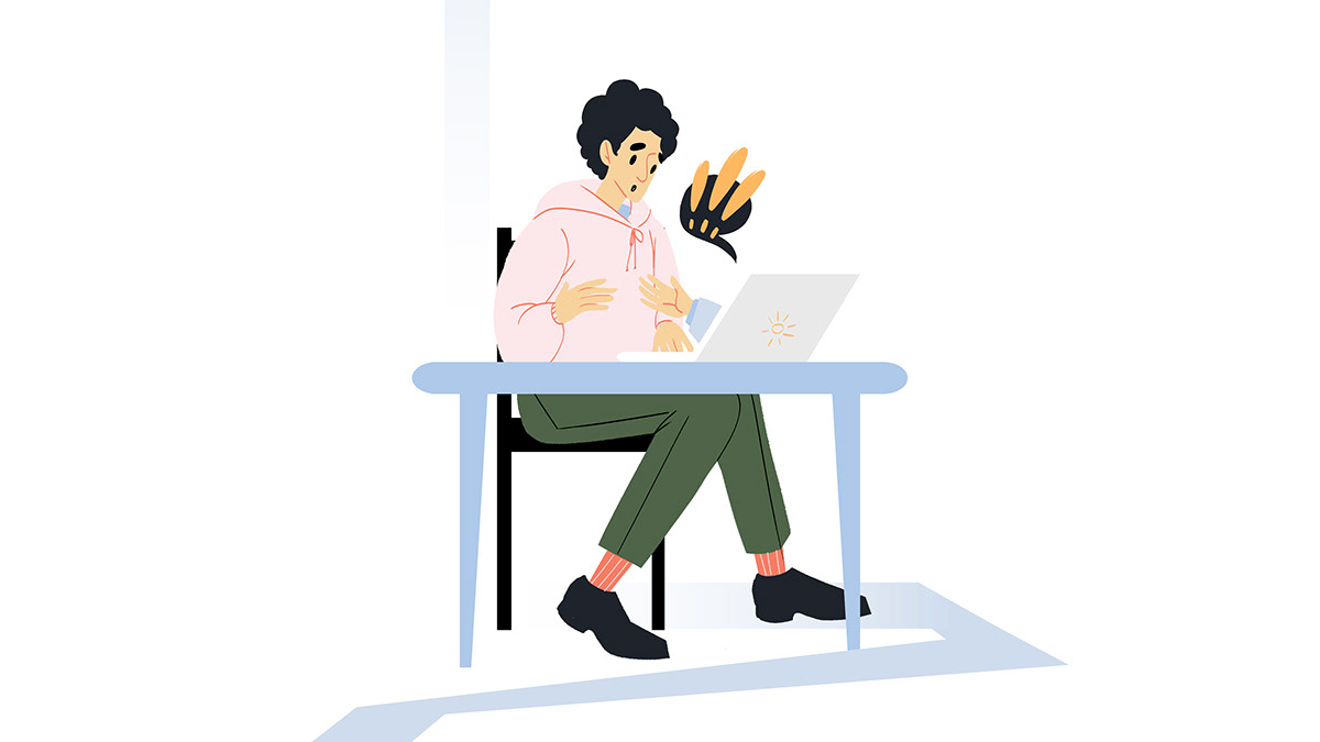 a computer charity deadline donation ILLUSTRATION  promise success webillustration