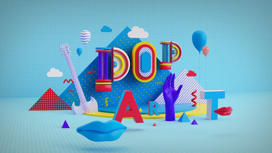 2019 trends: graphic design on Behance