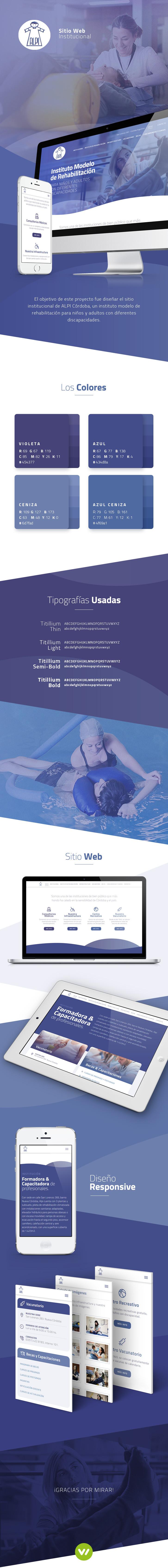 Pagina web de instituto de salud Alpi