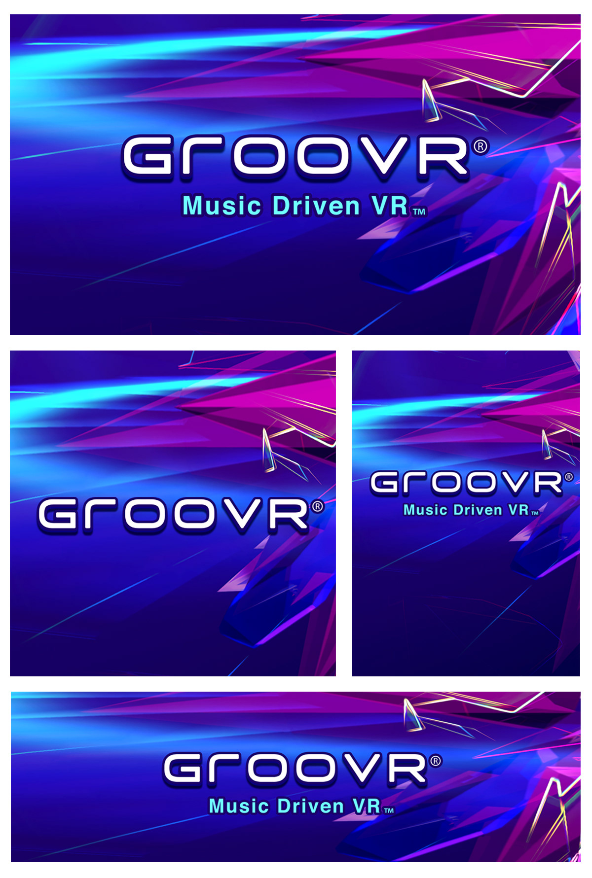 GrooVR: Gear VR App Icon on Behance
