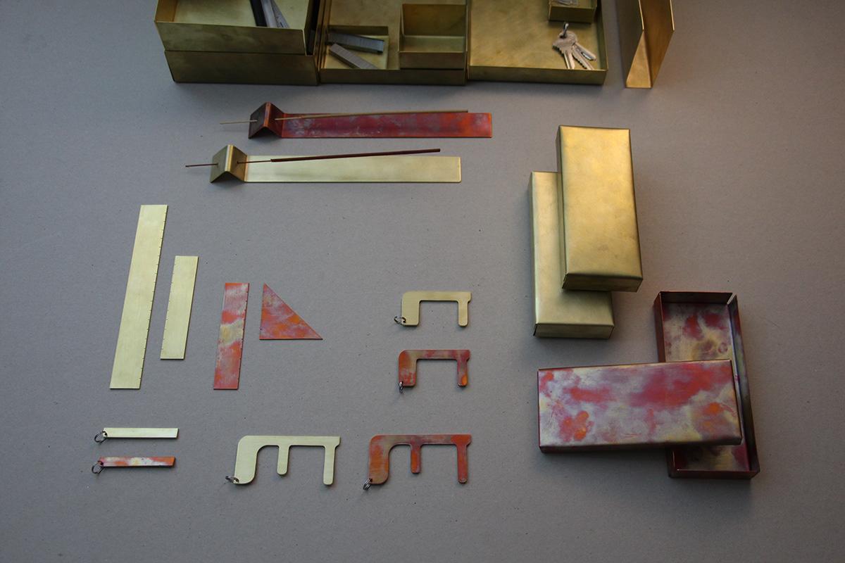 brass copper Office school