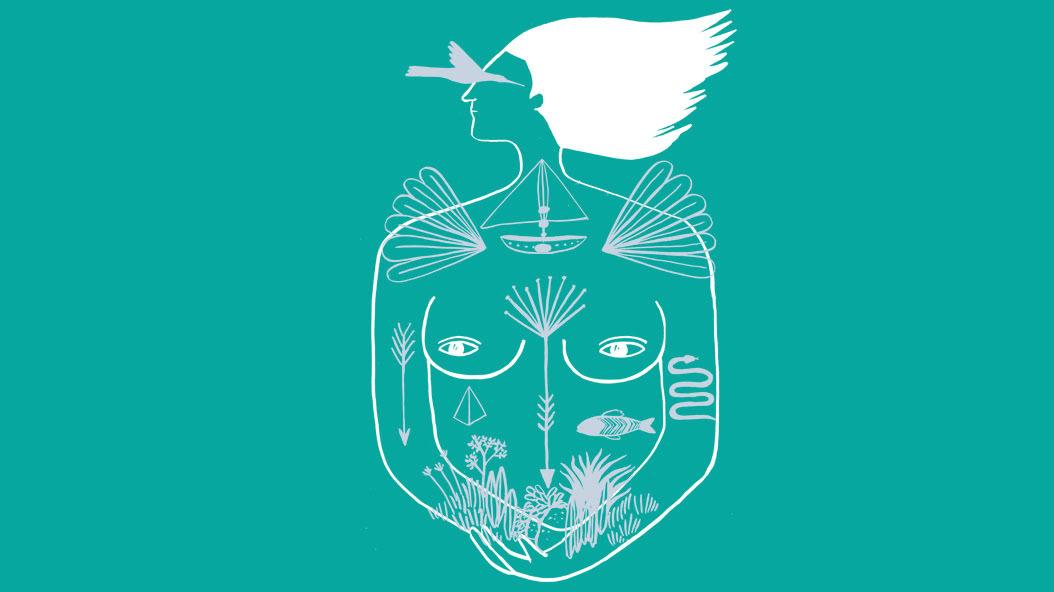 feminino festival feminino musica cantoras   mulheres feminismo design gráfico Ilustração