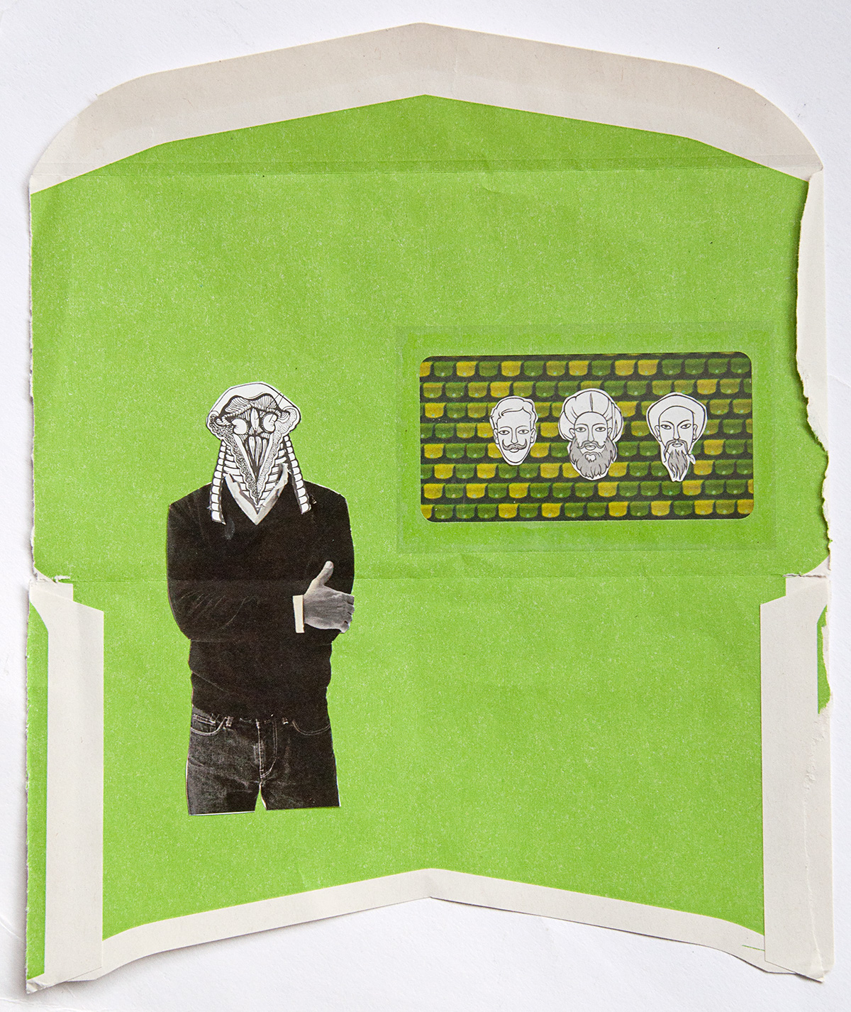 collage  cut paper paper art