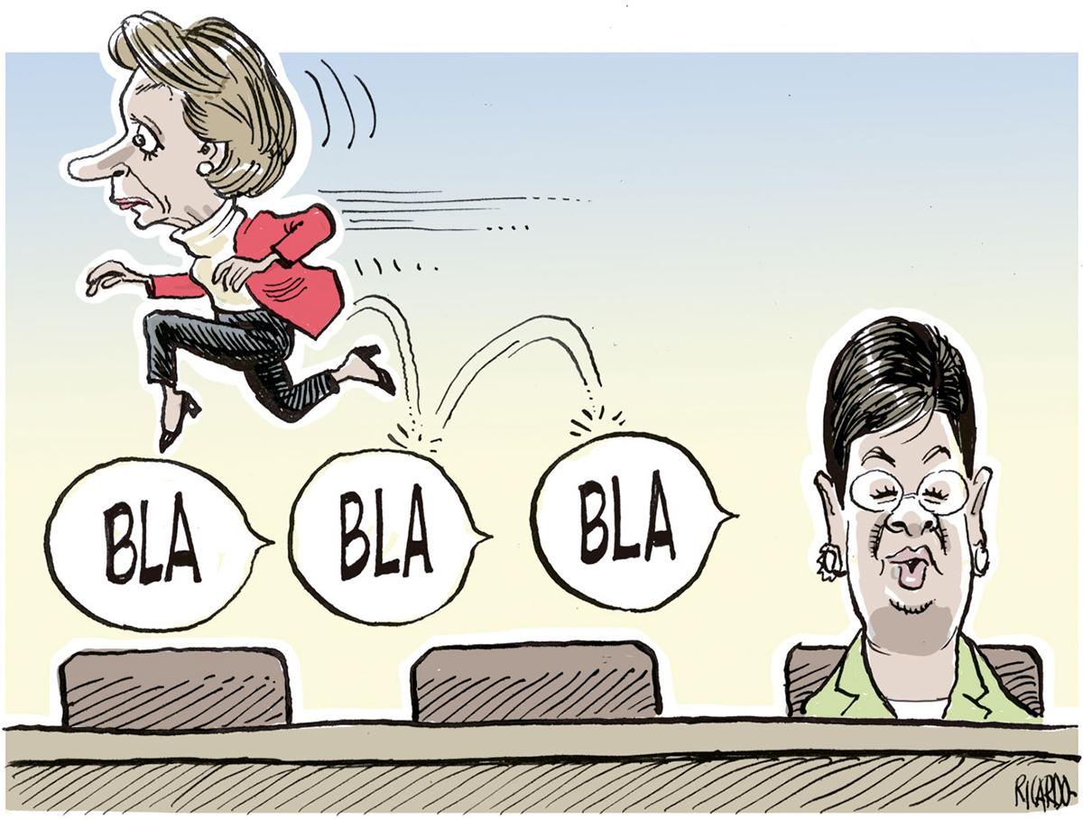 editorial comics BUM STEERS culture political