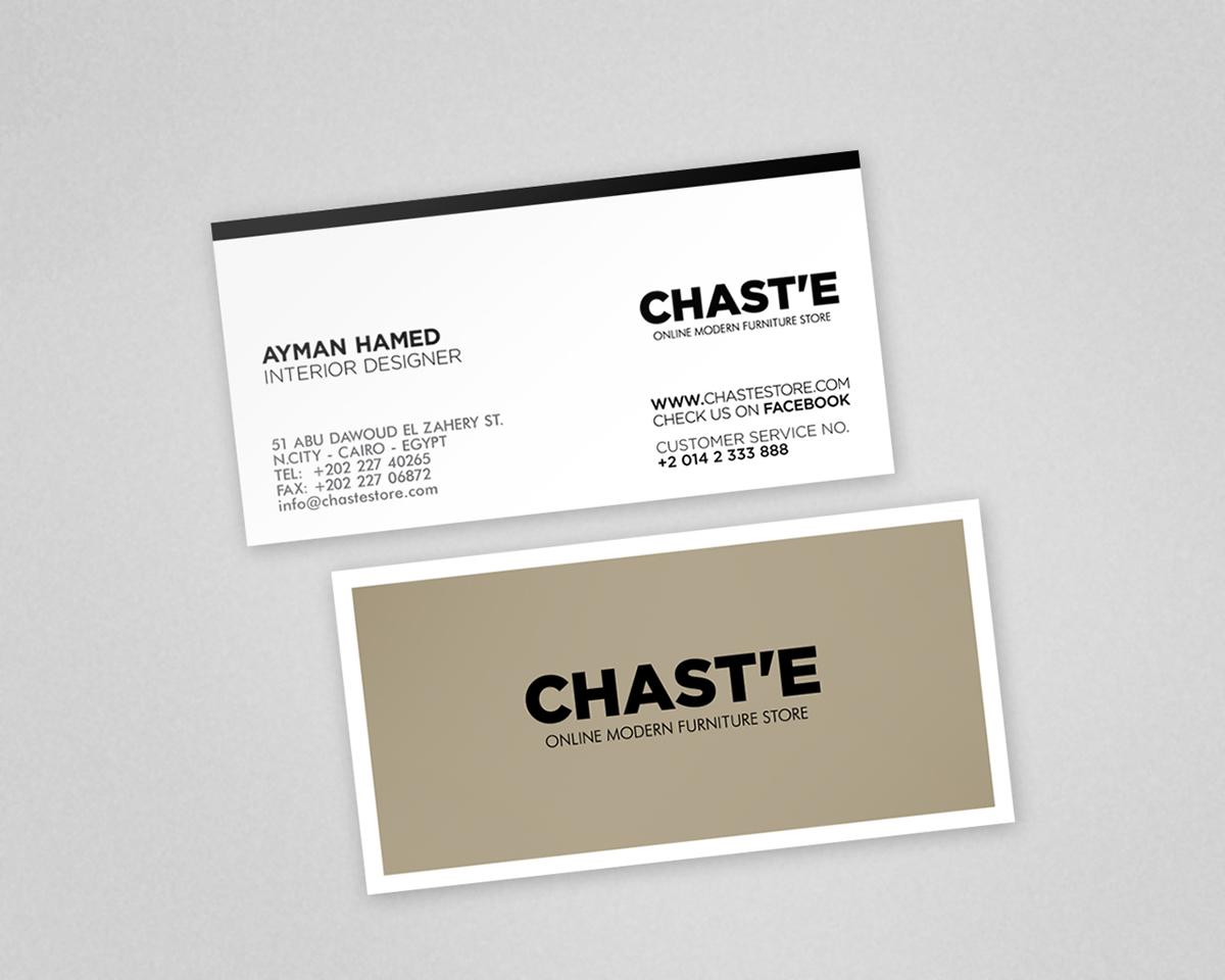 CHAST\u0027E Furniture Store on Behance