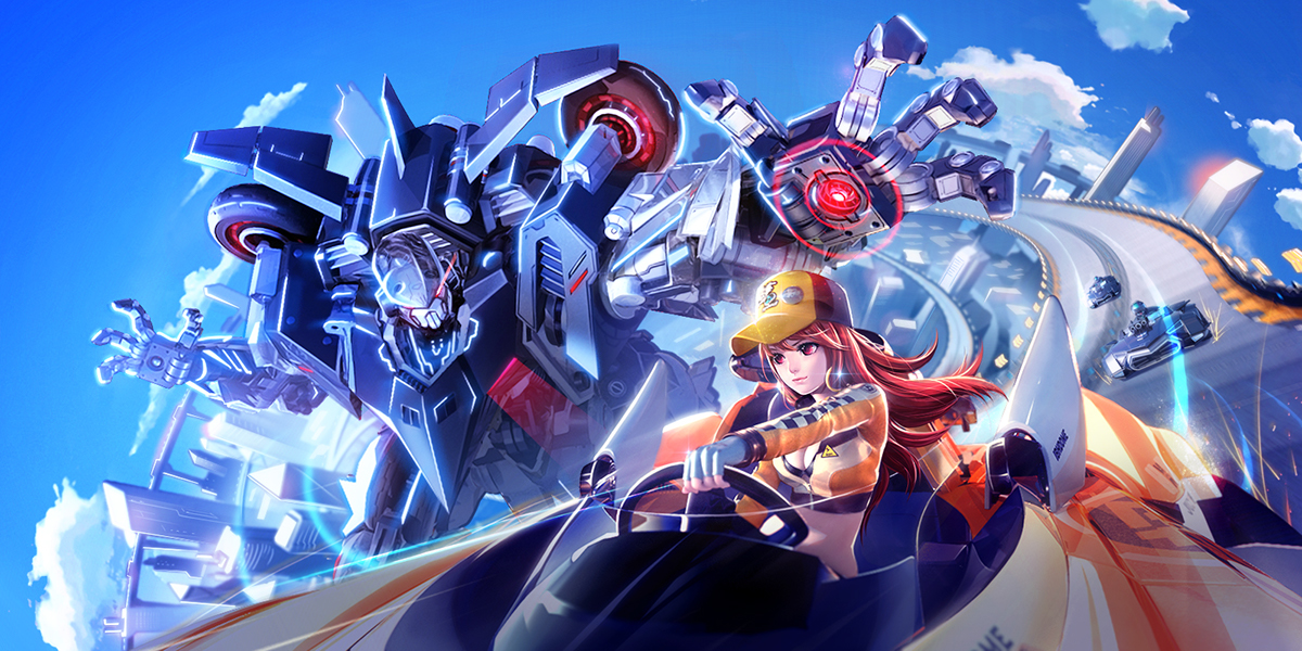 Posters For Tencent S Mobile Game Qq Speed 2 0 On Behance