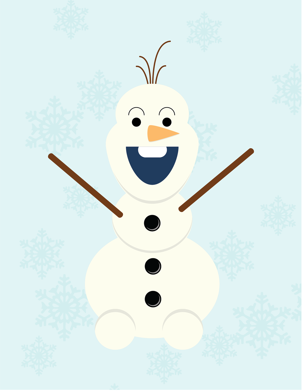 Character Design With Basic Shapes : Disney simple shape characters on behance