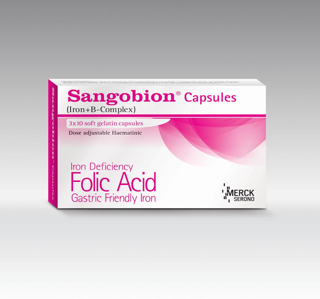 3d Packaging Design On Behance Sangobion Capsul Thank You