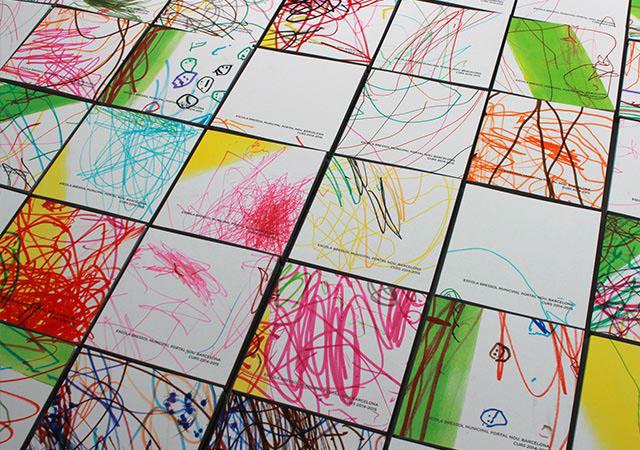 Ampa Portal Nou barcelona kindergarten book editorial children editorial design  graphic design  kids