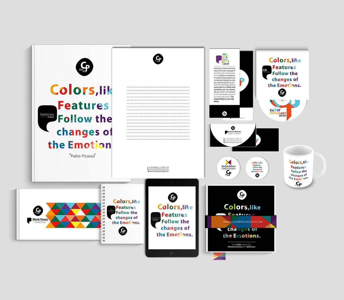 Color Psychology Book on Behance