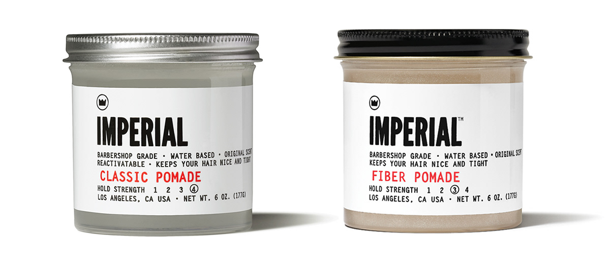 Imperial Barber Products Packaging On Behance