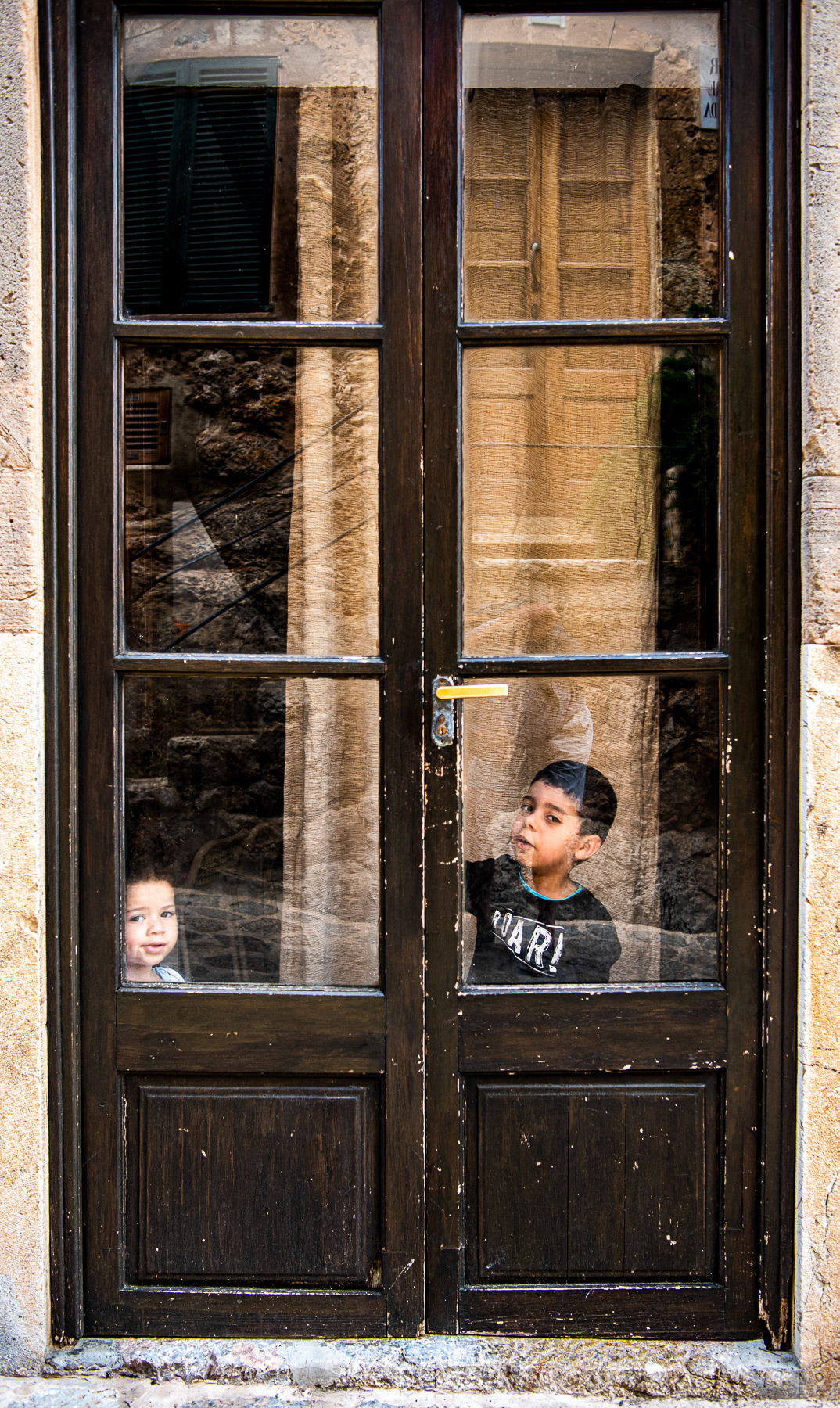 details Doors mallorca spain streets villages