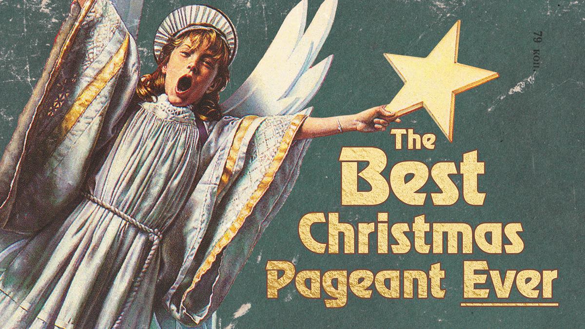 Christmas Sermon Series star Advent gold Vintage Christmas book children's book vintage book gold type