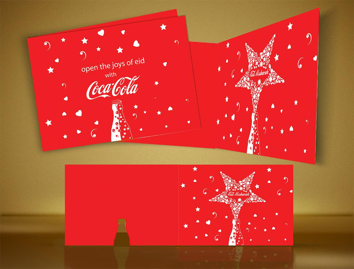 Coke Eid Greeting Card On Behance