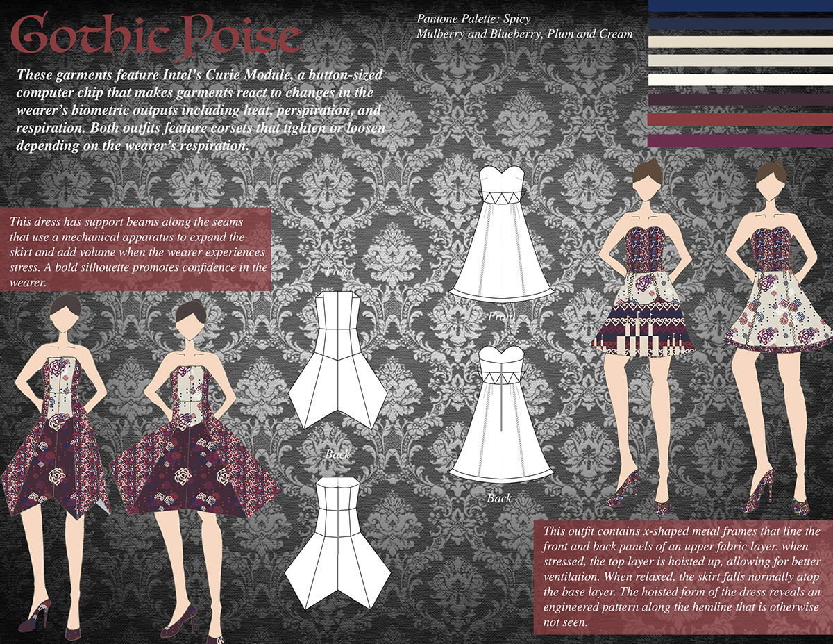 Gothic Architecture Inspired Textile Designs On Behance