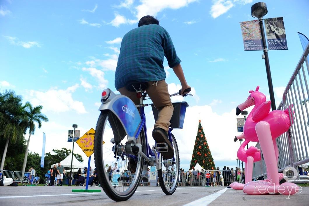 citi bike miami launch activation on behance