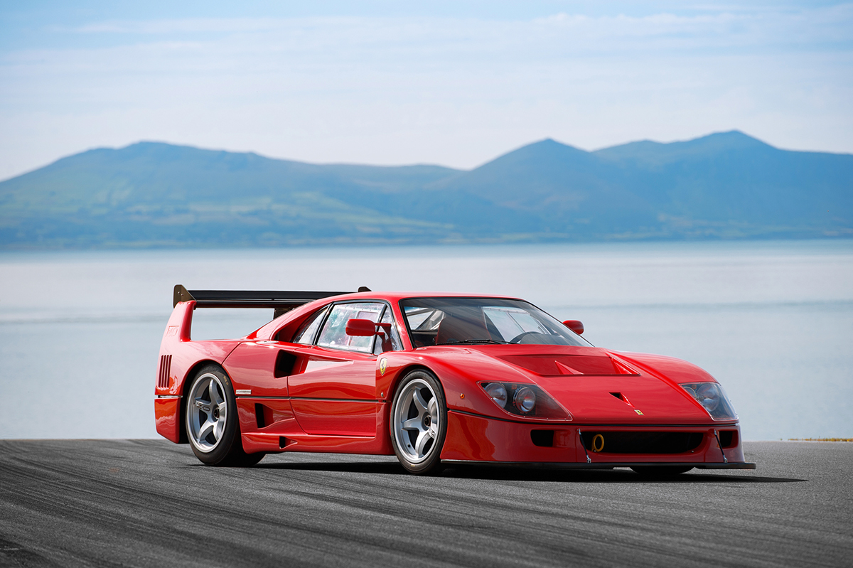 Ferrari F40 Lm On Behance