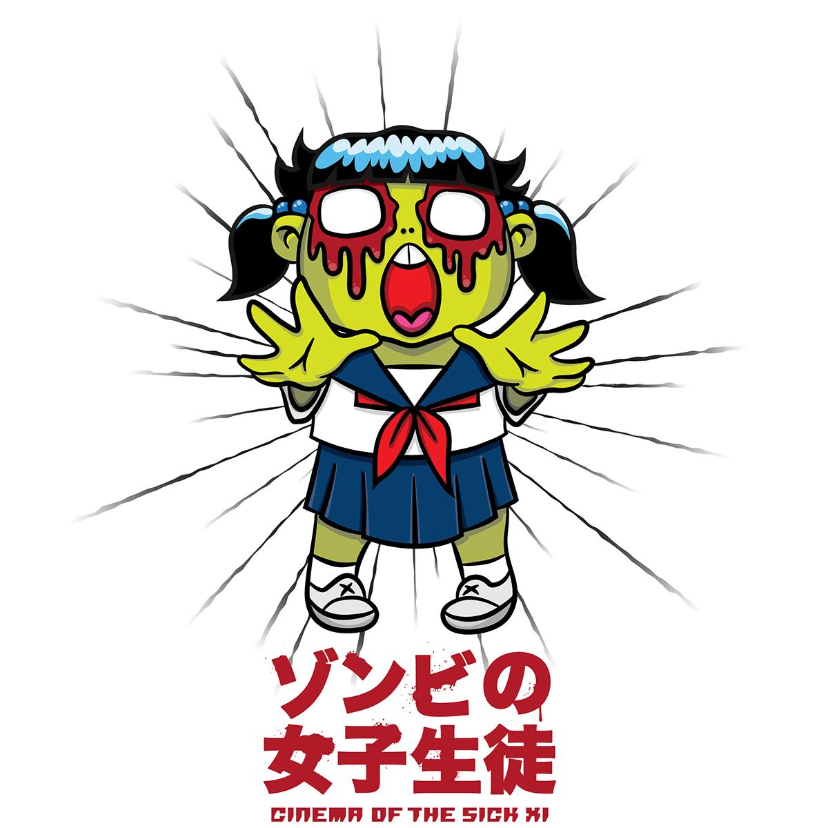 vector Logotype Character design  apparel horror japan streetwear