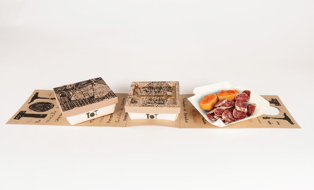 Tot take away packaging on behance - Envases take away ...