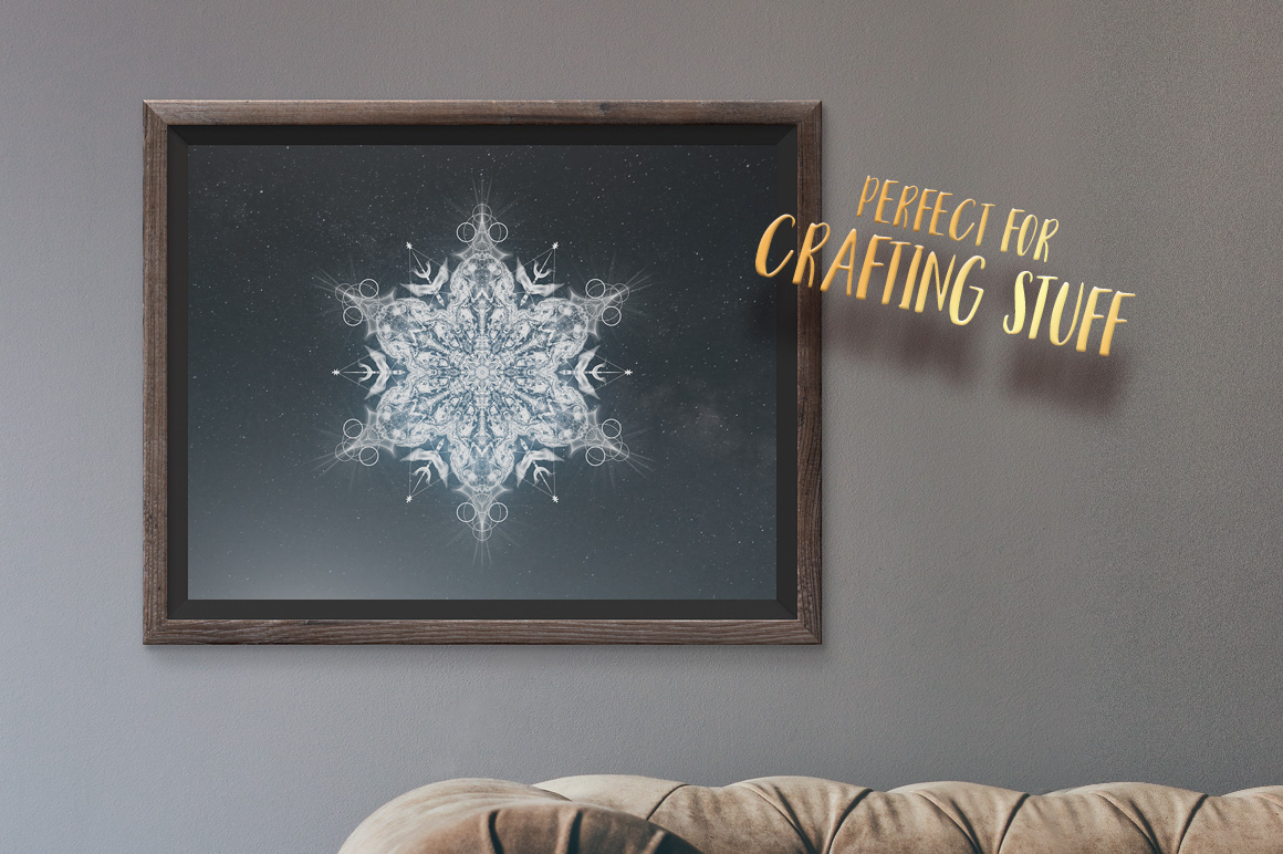 abstract snowflake snowflakes Christmas card winter decoration decorative star snow