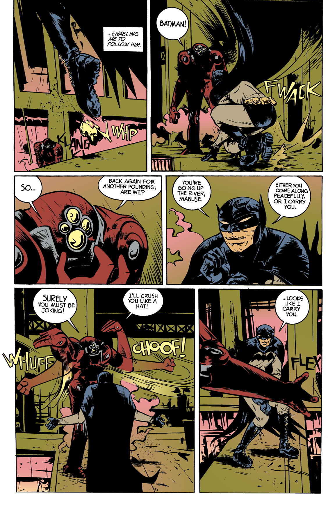 Comic Book Color Samples - Paul Pope\'s \