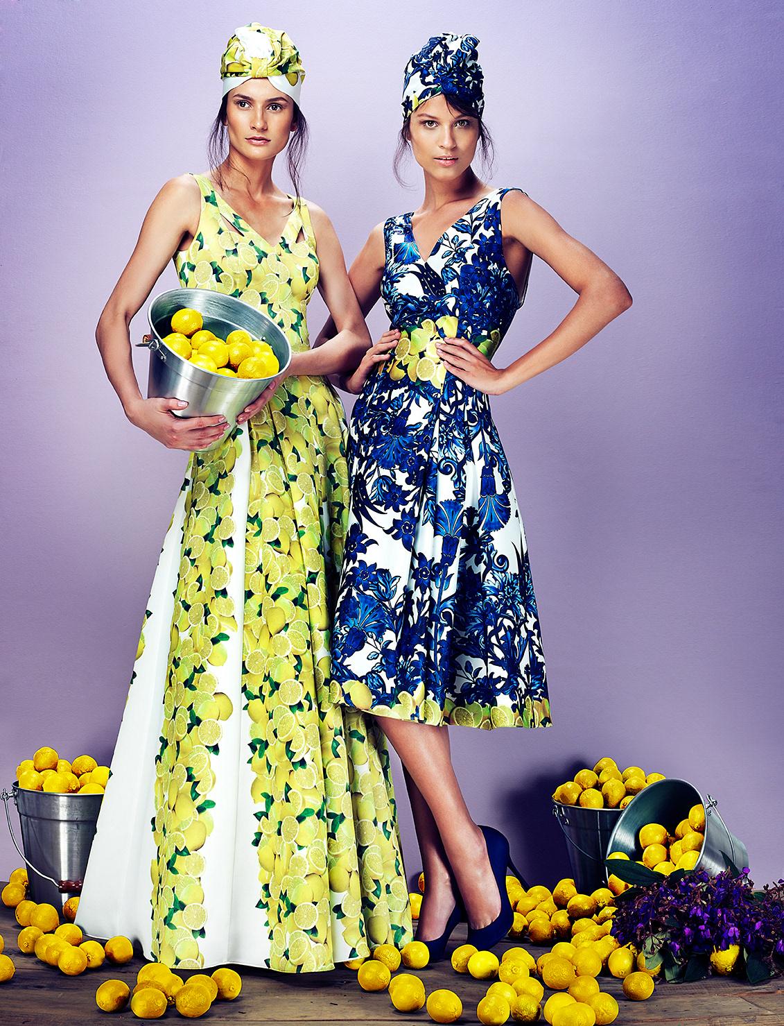 Image may contain: dress, yellow and wall