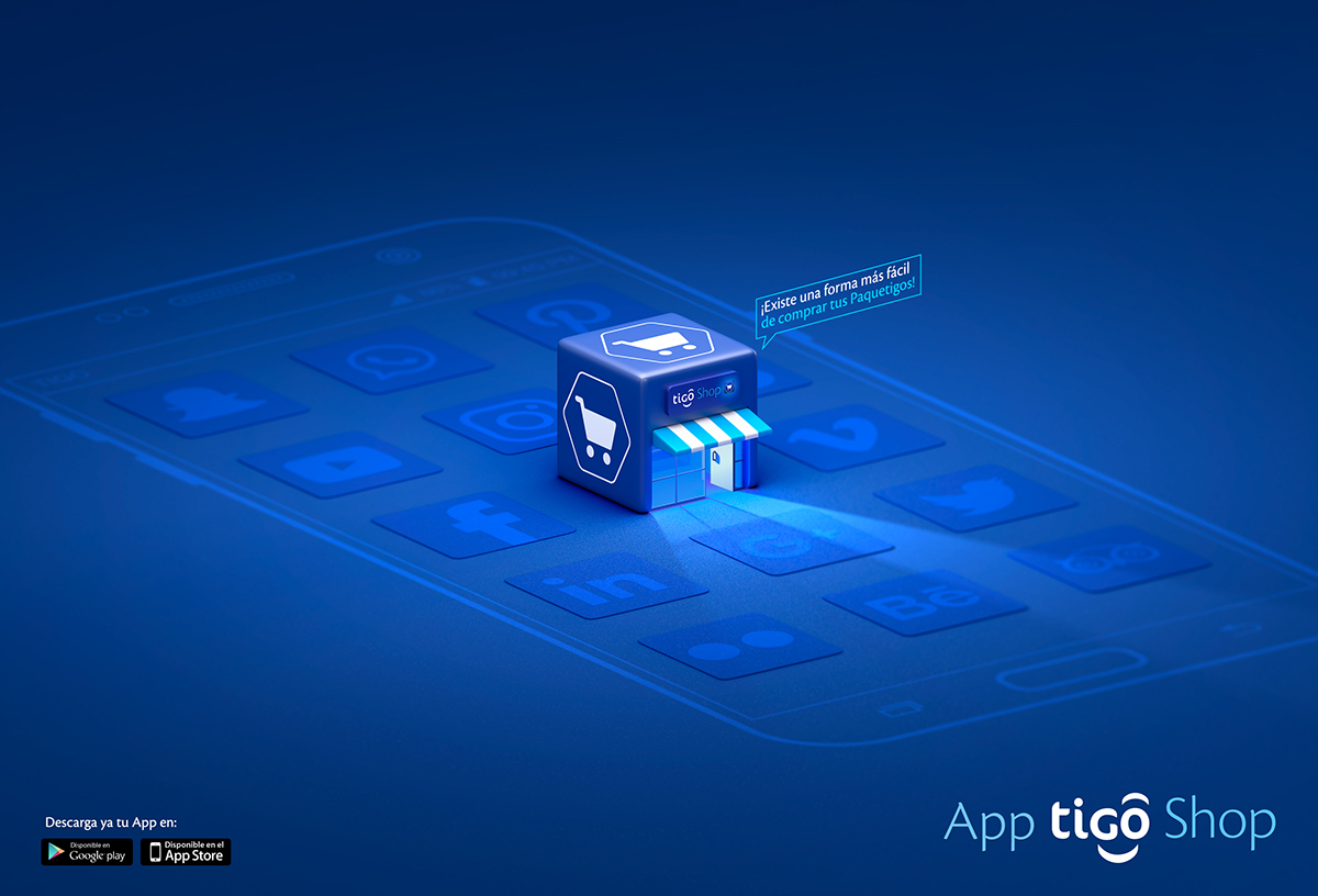 app tigo shop