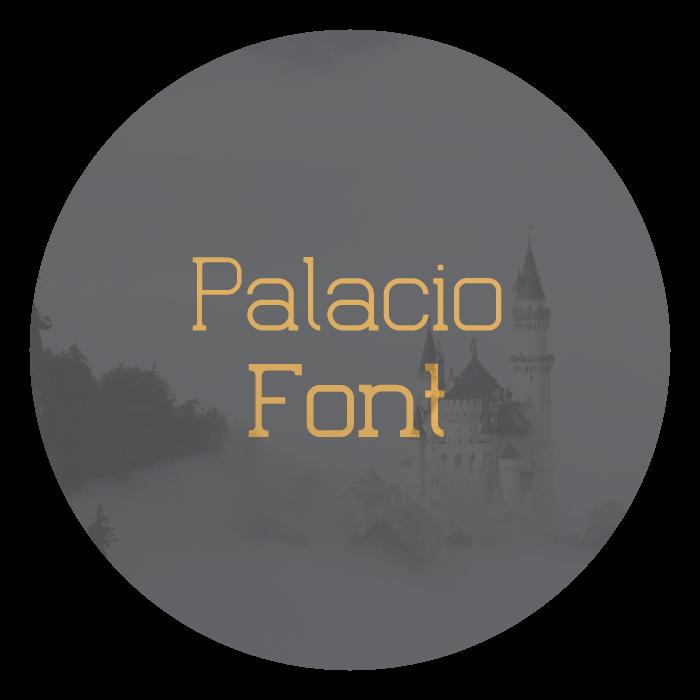 Palacio Free Font on Behance