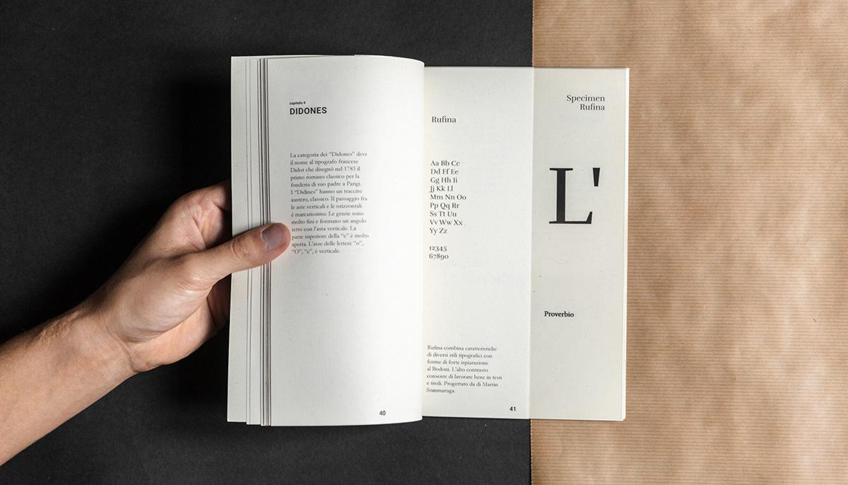 University Project editorial book type graphic design  politecnico di torino Photography