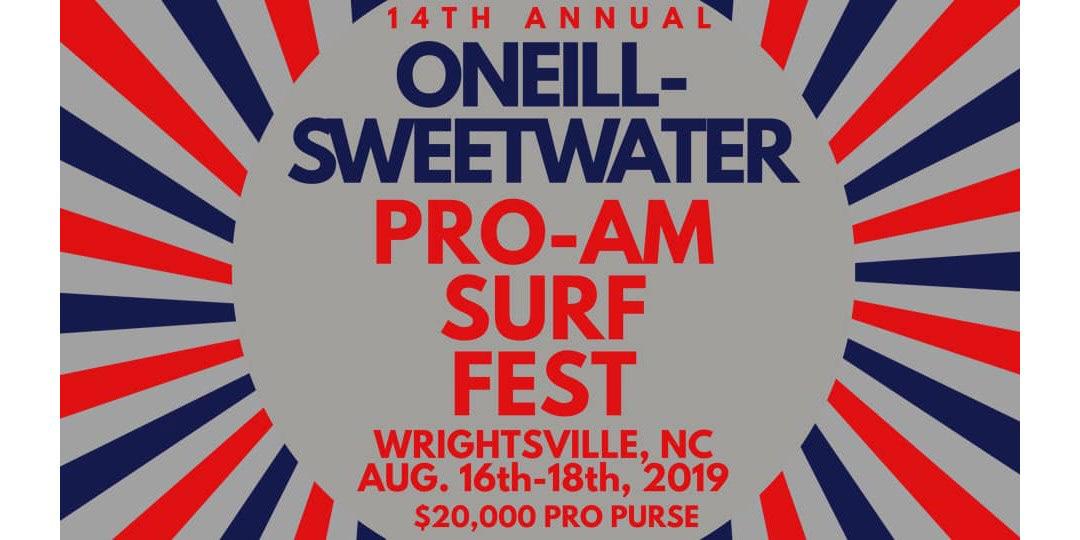 Wahine Classic O'Neill Sweetwater Pro-Am Surf Fest wrightsville beach north carolina esa ECSC Blockade Runner  Brad Beach Surfers Healing