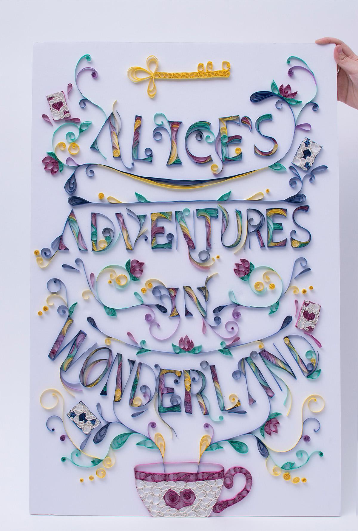 Alice In Wonderland Book Report Ideas : Alice s adventures in wonderland book cover design on