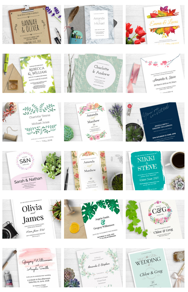 creative wedding invites com wedding invitation builder on behance