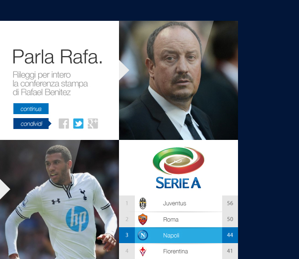 ssc napoli website