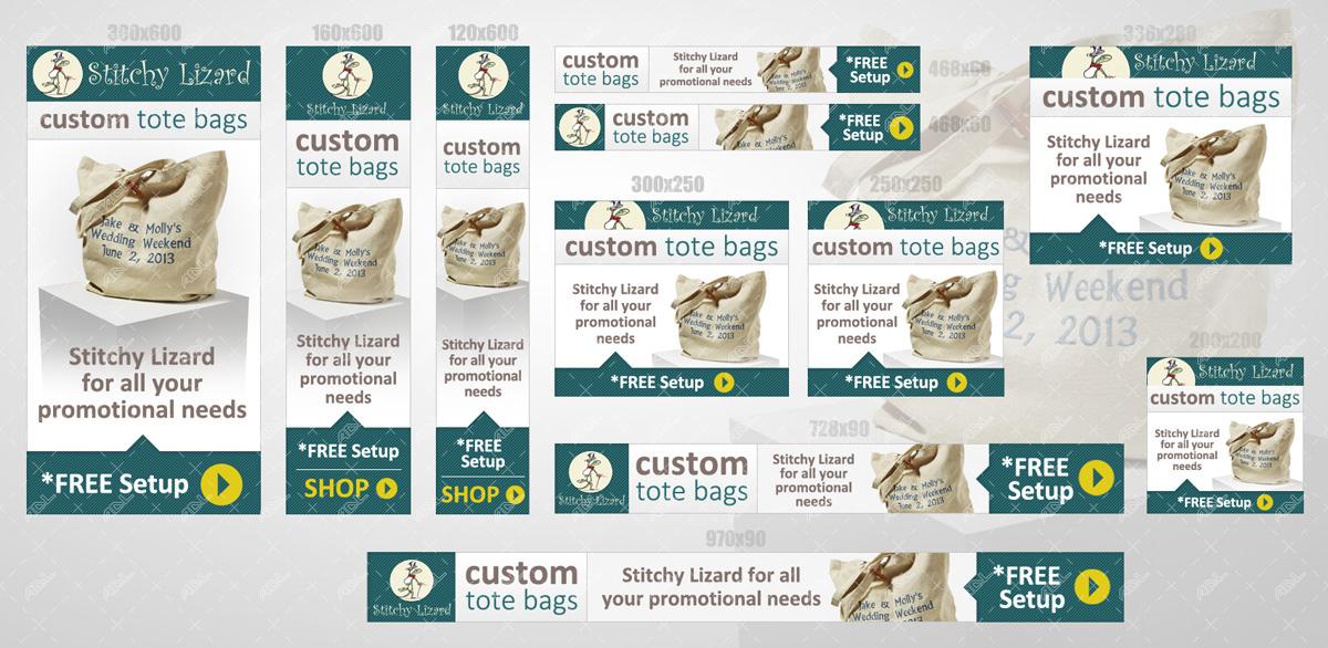 Web ads online marketing
